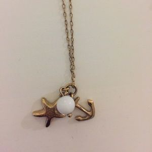 JCrew Stacking Nautical Necklace